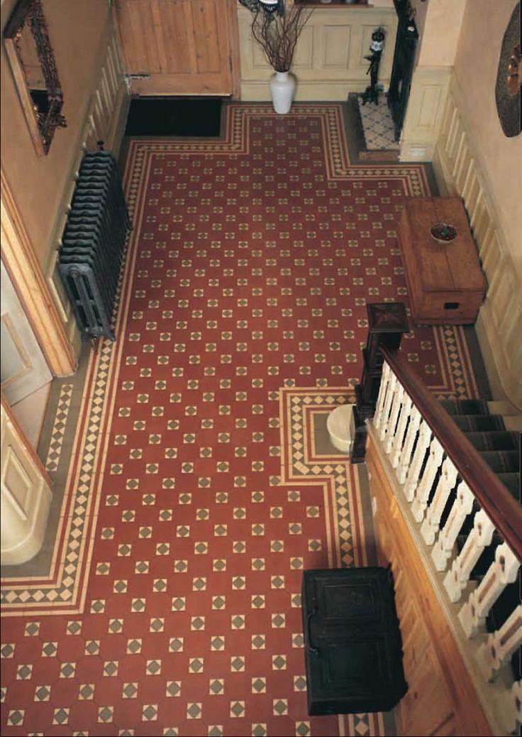 25 best edwardian design images on pinterest for Victorian kitchen floors