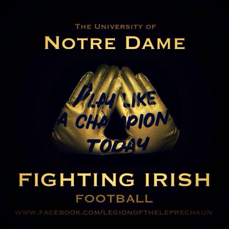 Notre Dame Football Wallpaper: 16 Best Images About Notre Dame On Pinterest