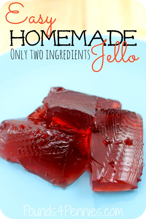 Here is a super healthy way to make Jello in just a few minutes with only two ingredients. Make healthy homemade Jello for your kids with this super quick and simple recipe. I am definitely making Jello at my house now.