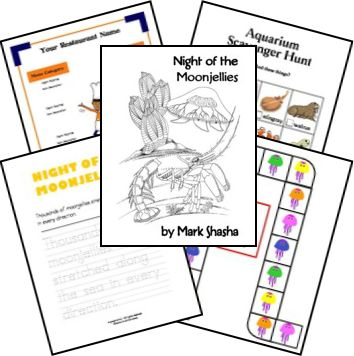 Night of the Moonjellies Lessons and Printables from Homeschool Share