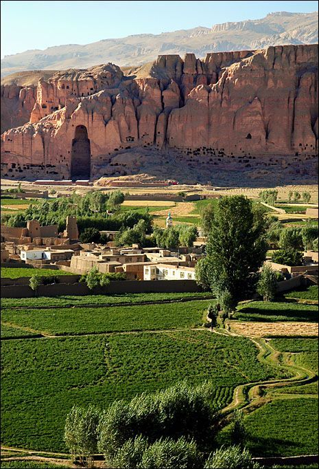 Where Buddha Once Stood - Bamiyan, Bamian, Afghanistan
