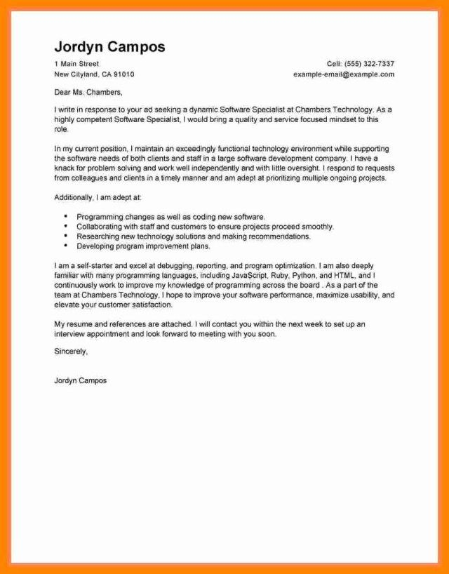 27 Pharmacy Technician Cover Letter Resume Cover Letter Example