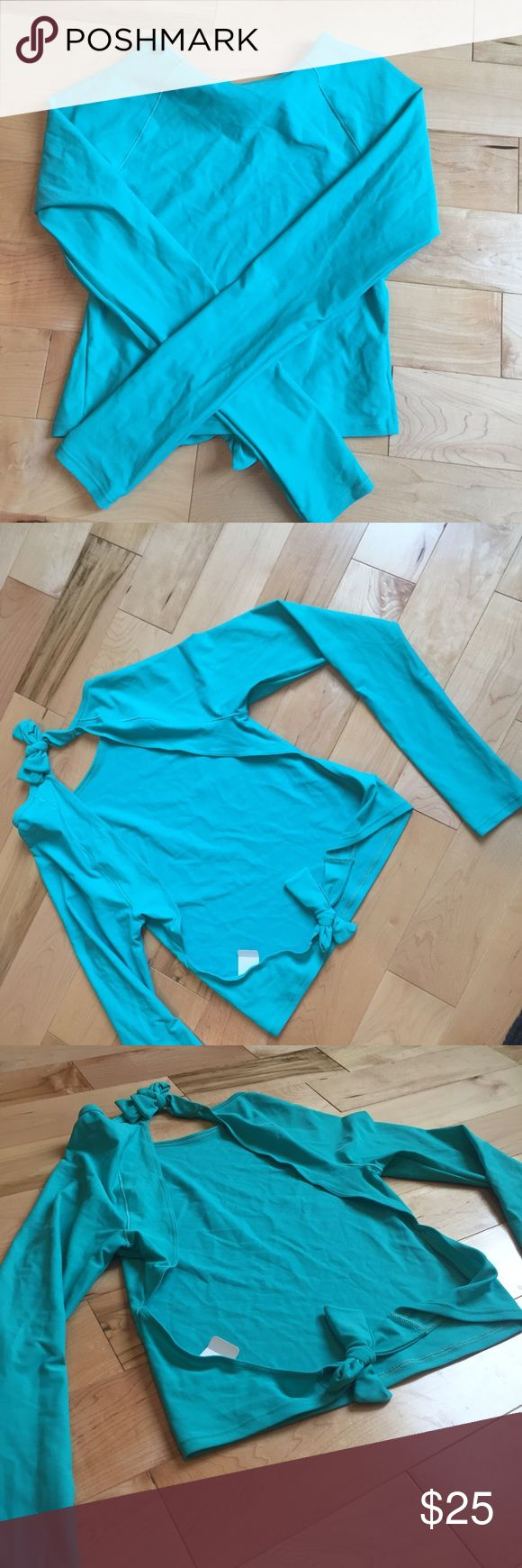Aerie American Eagle rash guard Open back rash guard by Aerie. New with tags.  See additional listings for matching bikini American Eagle Outfitters Swim Bikinis