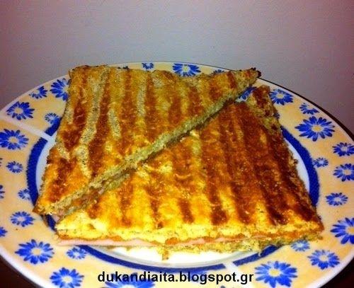 Όλα για τη δίαιτα Dukan: Ψωμί για τοστ Ντουκάν
