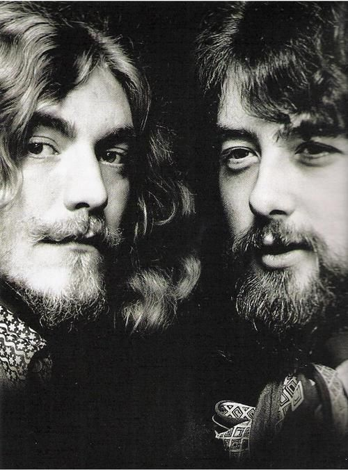 Led Zeppelin - Robert Plant and Jimmy Page.