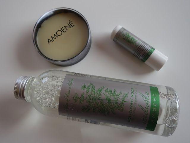All my cosmetics: Meduňková řada kosmetiky Amoené