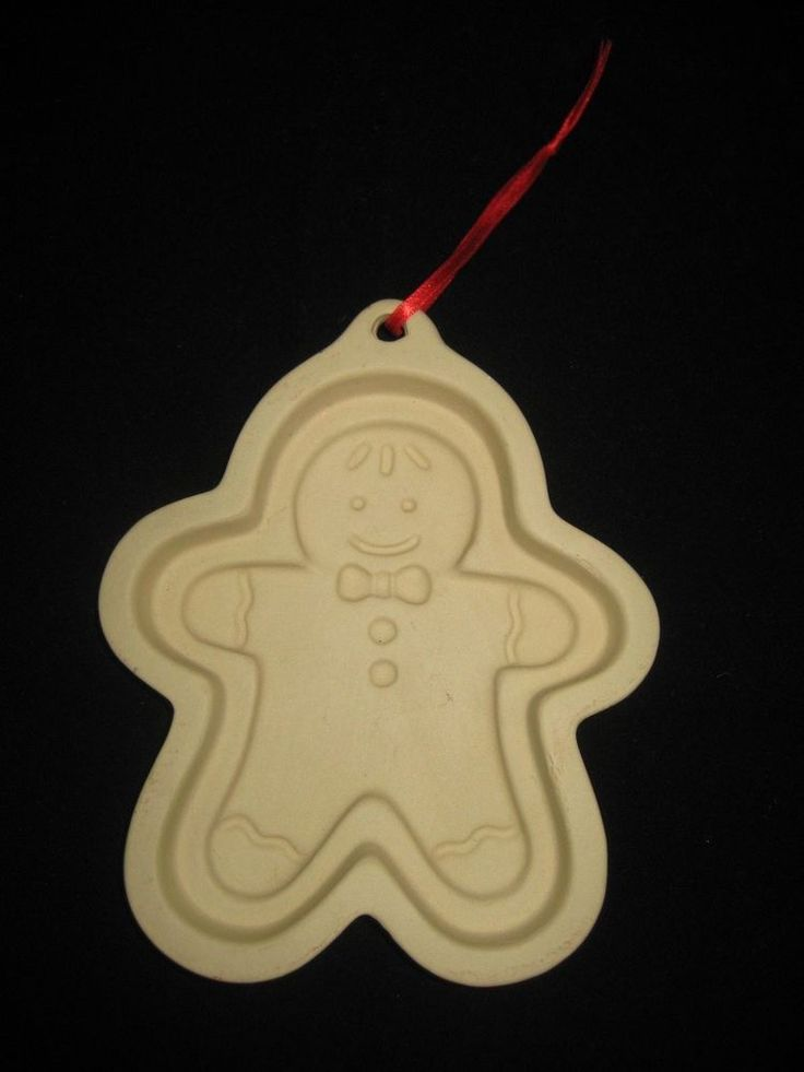 Shortbread Cookie Mold Gingerbread Man by French Pantry EUC! #FrenchPantry