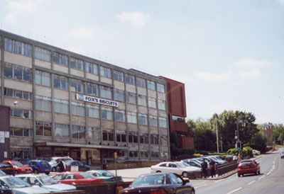 Largest employer in town. Fox's Biscuits, Batley