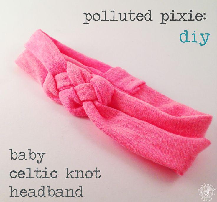 diy: baby celtic knot tutorial