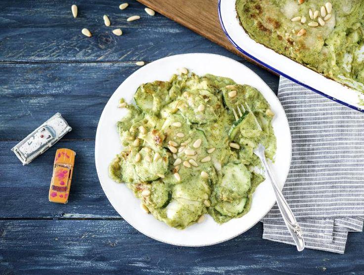 Lasagne met broccoli-kaassaus Recept   HelloFresh