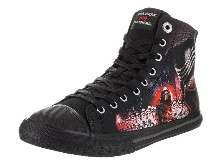 Star Wars Galactic Ruler Casual Shoes - Fashionable Star Wars Shoes for men #starwars #shoes @ https://starwargift.com/best-darth-vader-shoes/ #ShoesForMen