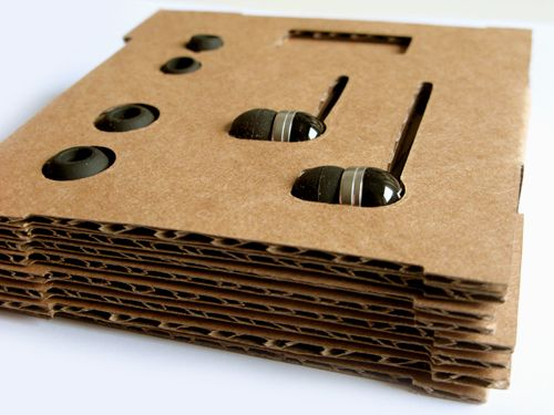 Sennheiser Eco Earphones Packaging