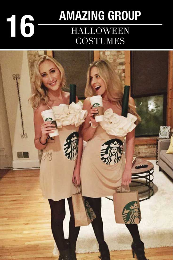 Top 16 Group Halloween Costumes For You And Your Squad at http://youresopretty.com/group-halloween-costumes/