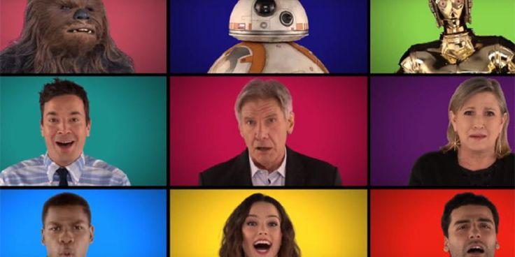Star Wars: actores cantaron a cappella temas de la saga [VIDEO]