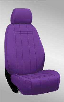Purple Neoprene Seat Covers for my Jeep :)