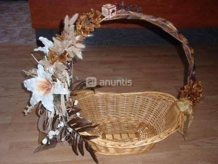 Resultado de imagen para canastas para boda