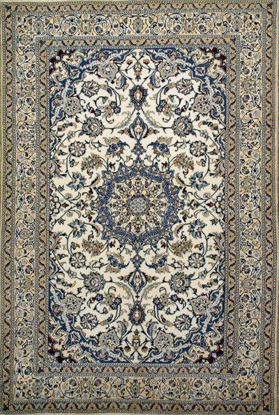 Authentic Persian Rug Nain
