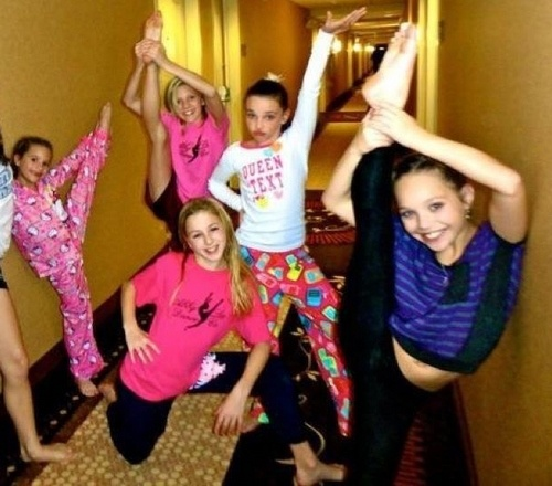 DANCE MOMS; at a hotel