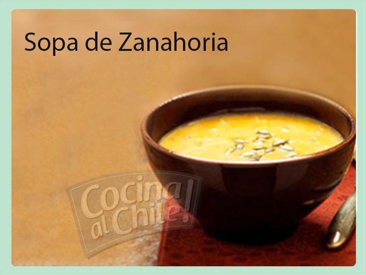 Deliciosa Sopa de Zanahoria que les encantará a todos.