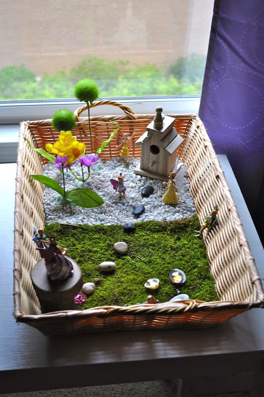 Fairy Garden Container Ideas fairy garden this was a fun project that my granddaughter really enjoyed helping with Find This Pin And More On Garden Fairies Garden Ideas 3