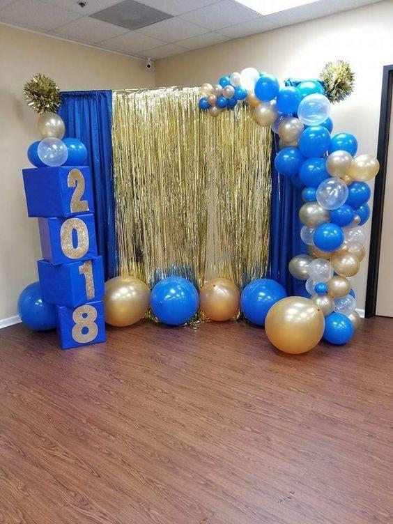 DIY Easy Letter Blocks Decorations for Graduation