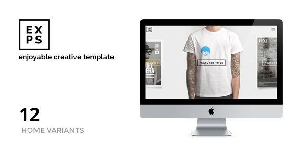 EXPOSE - Enjoyable Portfolio - Creatives & Agency