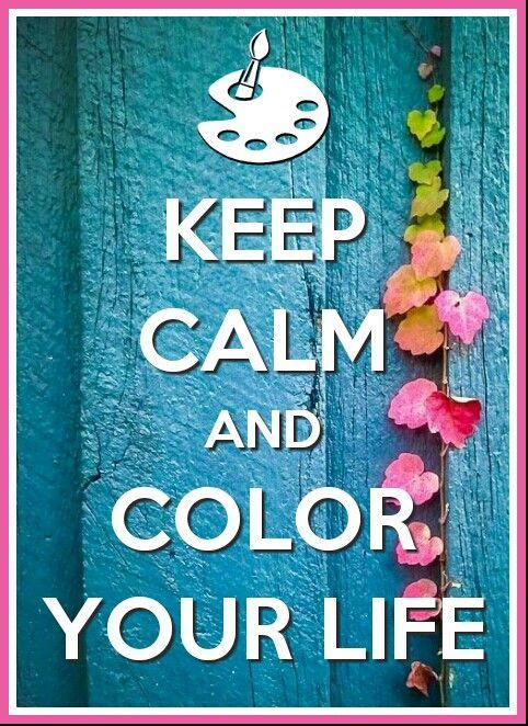Keep calm color #keepcalm