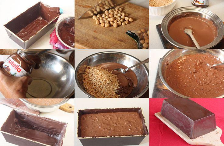 Dulces de Navidad: Turrón de Nutella