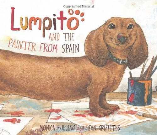 Lumpito and the Painter from Spain - I have this book + adore it!