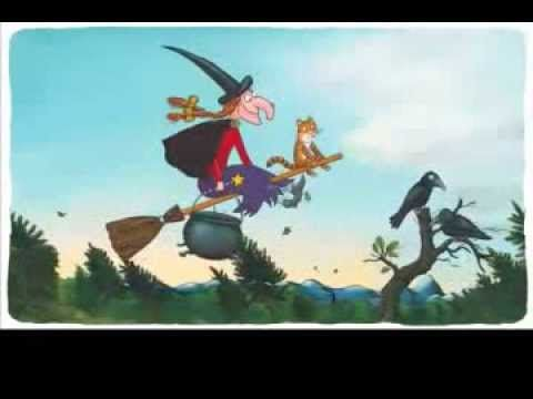 Room on the Broom! This is a very cute video to watch with your kiddos. Perfect for this time of year ;)