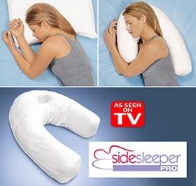 love my side sleeper pro pillow