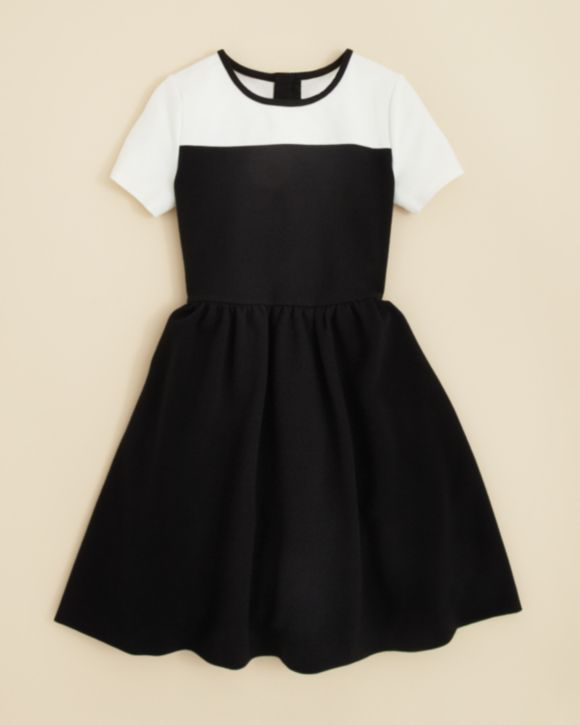 kate spade new york Girls' Olsen Fit and Flare Dress - Sizes 7-14 | Bloomingdales's