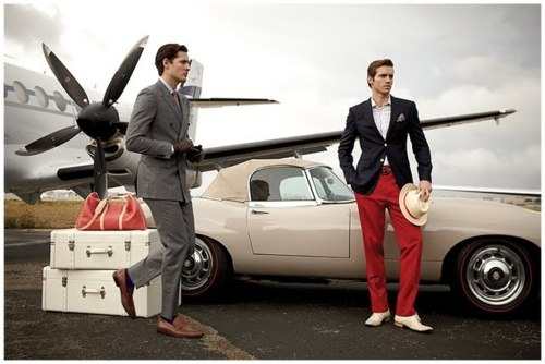 .Nice Outfit, Travel Lounges, Engagement Photos, Men Style, Men Fashion, Honeymoons Getaways, Vintage Inspiration, Vintage Inspired, Red Pants