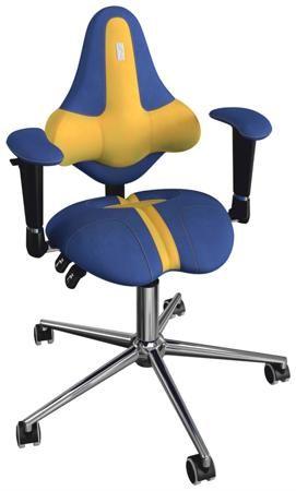 """Kulik System Анатомическое детское кресло kids 44  — 26500р. --- Отделка """"Duo color"""" Опора для ног - Ring Base Максимальная нагрузка – 80 кг Для детей 8-14 лет Kulik System®- это запатентованная система поддержки и лечения позвоночника. Без преувеличения можно сказать, что наши кресла не просто заботятся о том, чтобы самочувствие не становилось хуже от ежедневного сидения за компьютером, оно помогает скорректировать осанку, снять напряжение и уменьшить боль в спине. Секрет наших моделей в…"""
