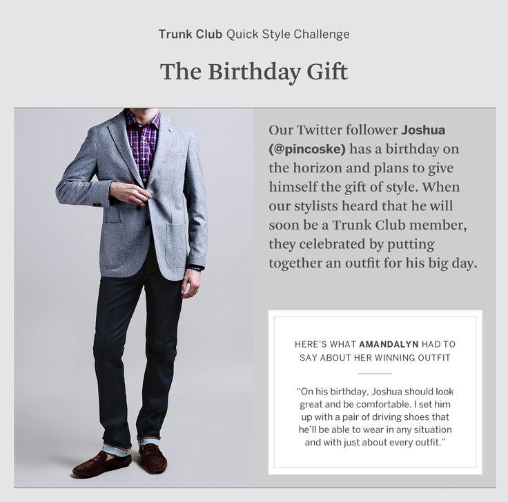 The Birthday Gift outfit via @Trunk Club! Thanks! #style #scorpio #trunkclub