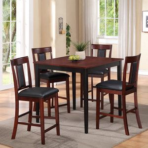 american furniture classics casual 5 piece counter height dining set