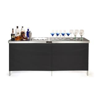 Shop for Trademark Innovations Portable Bar Table - Two Skirts and Carrying Case Included. Get free delivery at Overstock.com - Your Online Furniture Shop! Get 5% in rewards with Club O! - 17355298