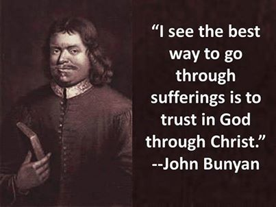 John Bunyan (28 November 1628 – 31 August 1688), English Christian writer and preacher. He is the author of The Pilgrim's Progress, arguably the most famous published Christian allegory. -    http://en.wikipedia.org/wiki/John_Bunyan