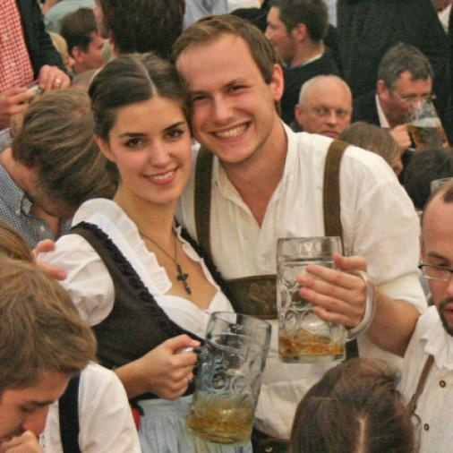 Oktoberfest- my mom and grandmother are from Berlin Germany and I love all things German.