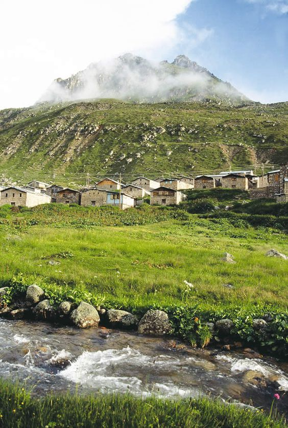 ✿ ❤ Highlands of Black Sea Regions, Turkey Rize (Kaçkar Mountains) Pontos, Caucasia: