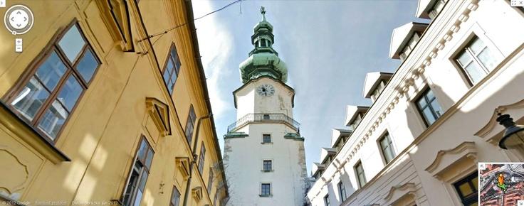 Google Street View - Michalska street, Bratislava