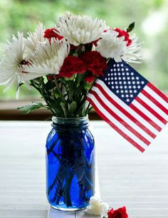 centerpieces for military retirement party - Google Search