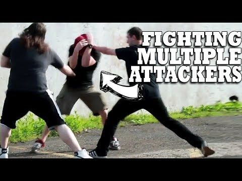 How to Fight Off Multiple Attackers Shane Fazen   fighttips.com #streetfight #selfdefence
