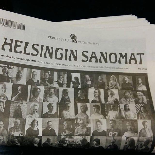 SUOMI. MATKAILU. HELSINKI. TALVI Hertiä&Valokuvia BLOGISSA 25.1.2017 HESARI, Sanomalehti tiedät mitä tapahtuua ja missä. Tykkään ja luen silloin tälläin. HYMY @helsinginsanomat #lukeminen #tapahtumat #helsinki #mstkailu #talvi #blogi #blog ☺