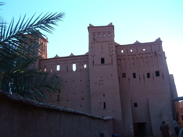 Kasbah Ait Ben Haddou on the Route of 1,000 Kasbahs.... popular filming place.  Photo by http://electricmeg.com