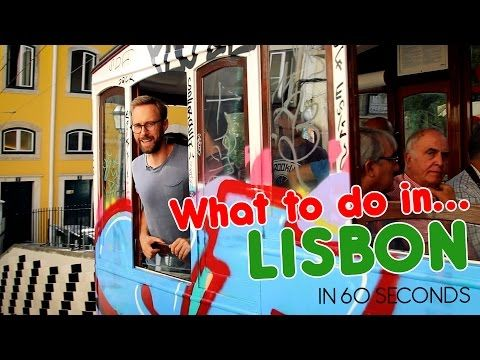 What to do in Lisbon in 60 seconds | Via 60seconds.travel | 21/10/2016 You want to know what Lisbon has to offer? Just give us a minute! We visited Portugals gorgeous and hilly capital in September 2016. Arne came back with sore muscles and plenty of recommendations. In 60 seconds. #Portugal
