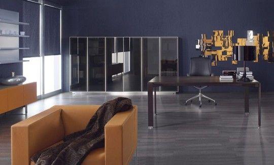 nowoczesne meble do gabinetu, bardzo stylowo urządzone, różne wersje na stronie: http://www.arteam.pl/kolekcje/meble-gabinetowe/