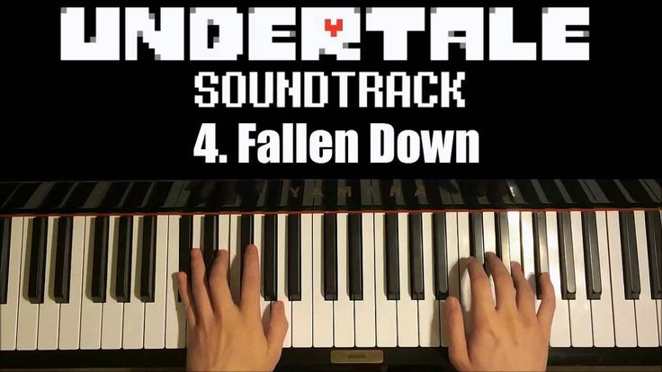 Undertale OST - 4. Fallen Down  (Piano Cover by Amosdoll)