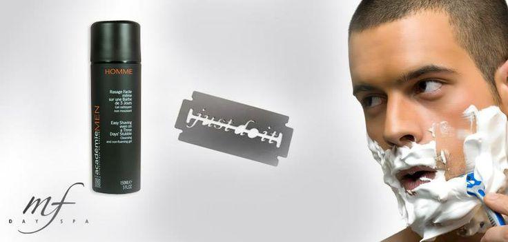 Μην αφήνετε τον σύντροφο σας να χρησιμοποιεί ό,τι κι ό,τι! Αφρός ξυρίσματος που θα αφήσει το πρόσωπο λείο χωρίς ερεθισμούς από το καθημερινό ξύρισμα!  http://www.spa-eshop.gr/Product/430/homme_rasage_facile