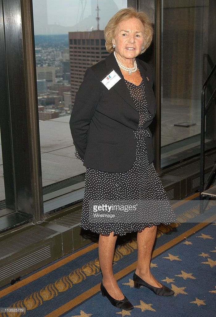 Ethel Kennedy during The Robert F. Kennedy Memorial Benefit Reception at The Boston College Club in Boston, Massachusetts, United States.